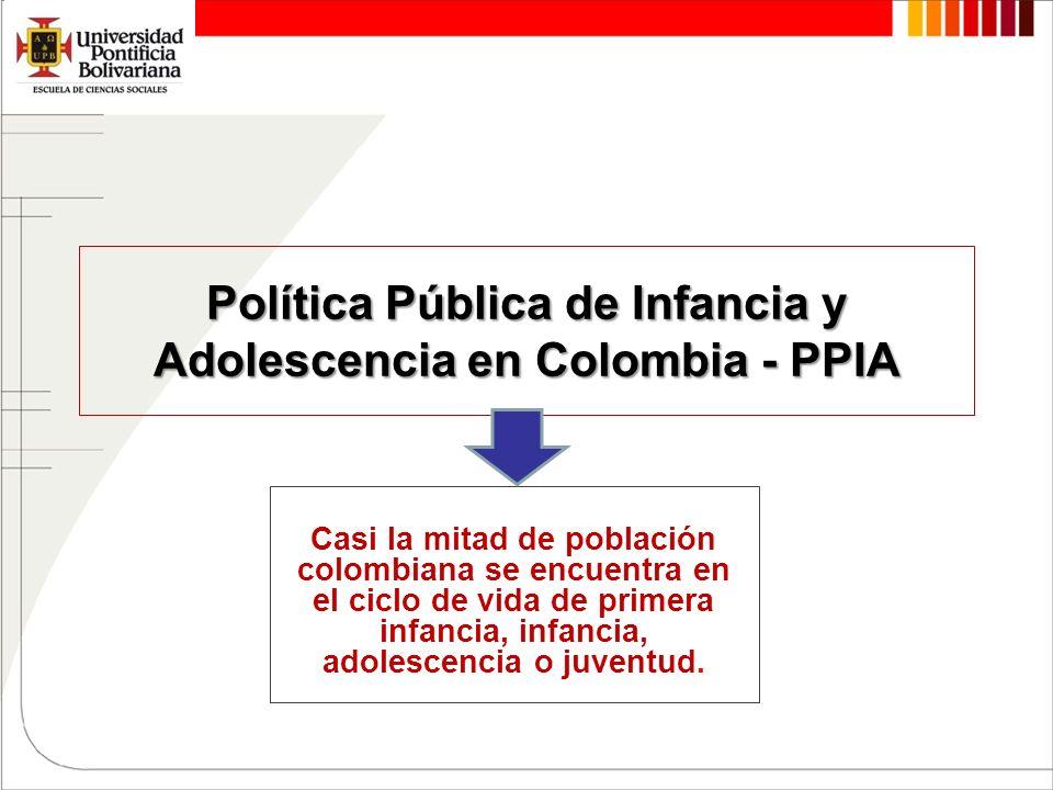 Política Pública de Infancia y Adolescencia en Colombia - PPIA