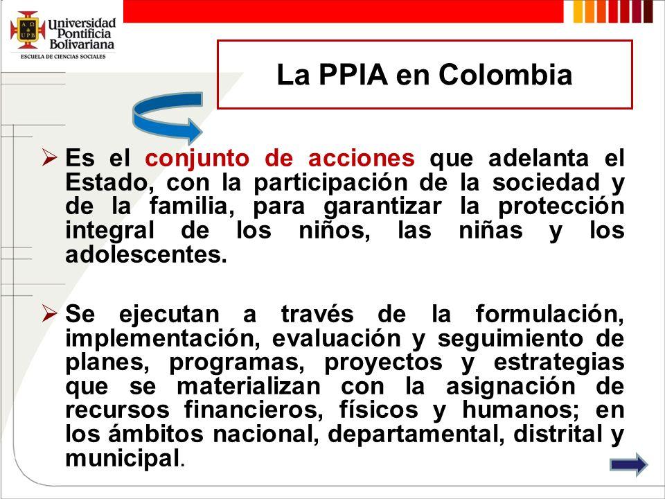 La PPIA en Colombia