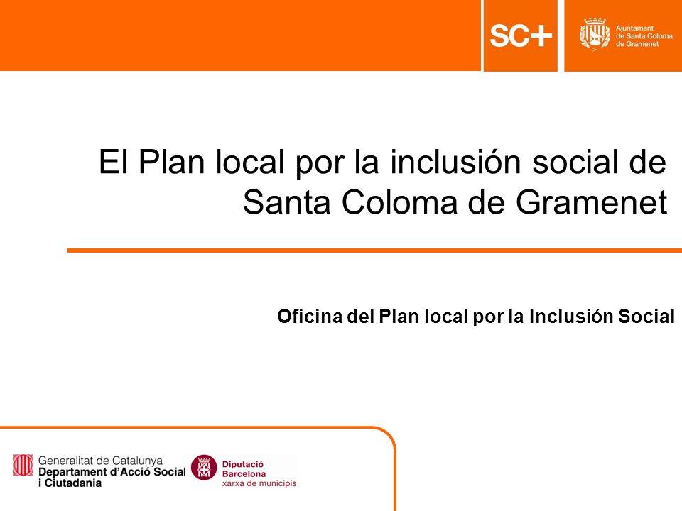 El Plan local por la inclusión social de Santa Coloma de Gramenet