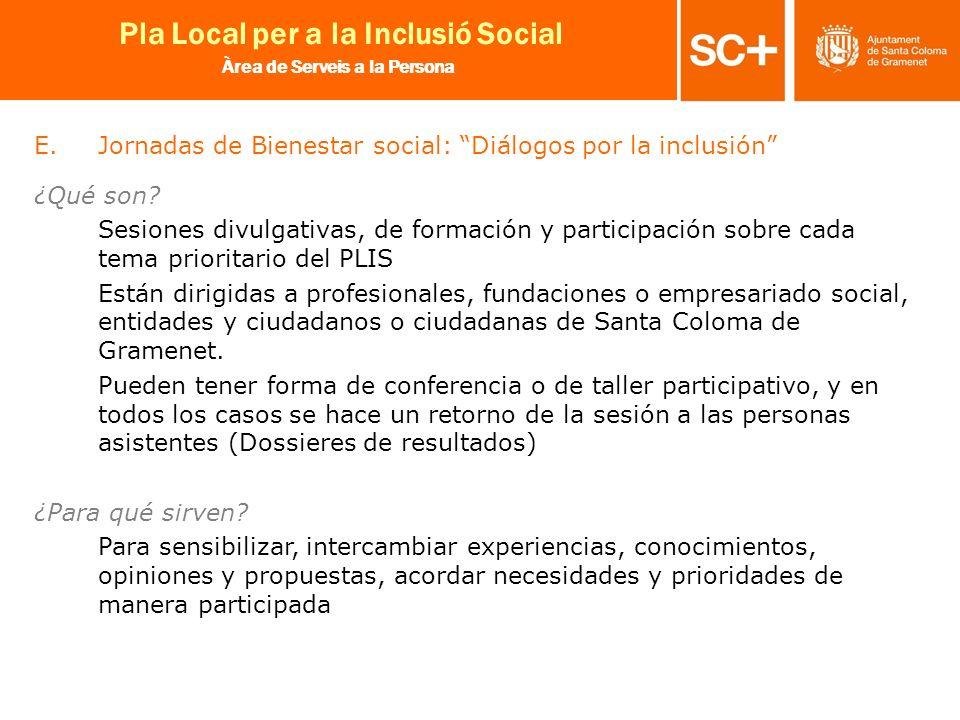 Jornadas de Bienestar social: Diálogos por la inclusión