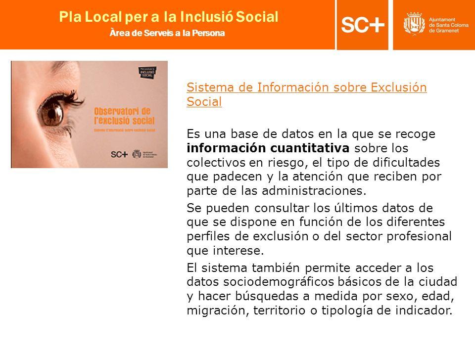 Sistema de Información sobre Exclusión Social