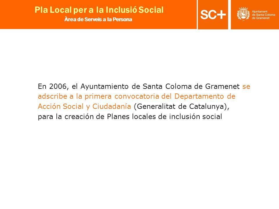 En 2006, el Ayuntamiento de Santa Coloma de Gramenet se