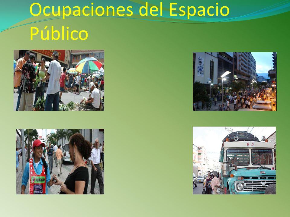Ocupaciones del Espacio Público