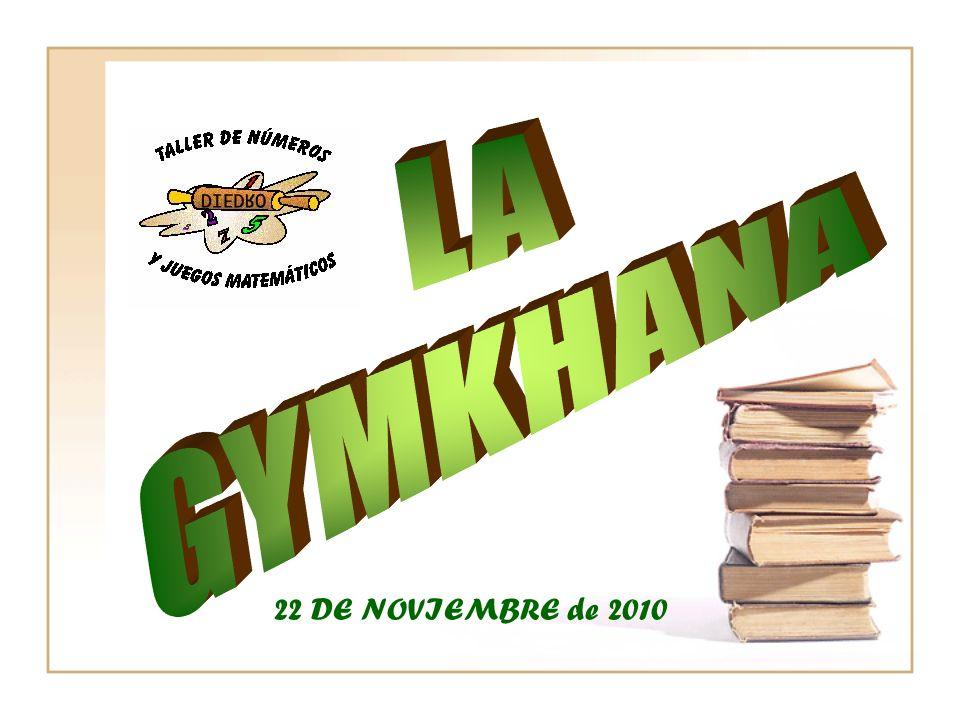 LA GYMKHANA 22 DE NOVIEMBRE de 2010