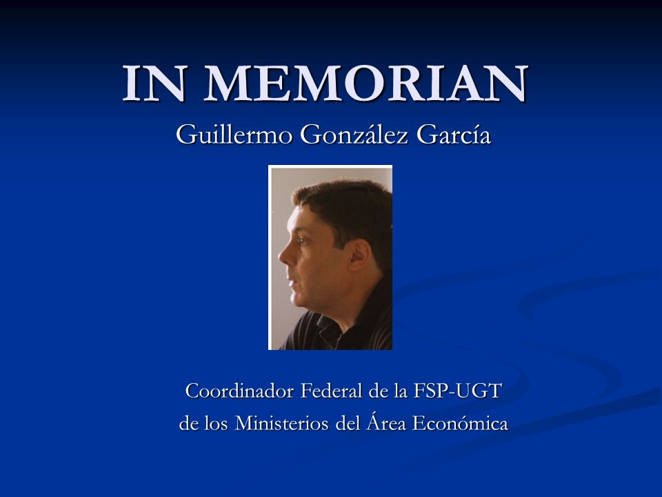 Guillermo González García