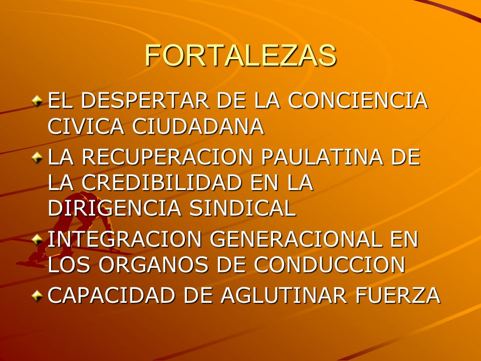 FORTALEZAS EL DESPERTAR DE LA CONCIENCIA CIVICA CIUDADANA