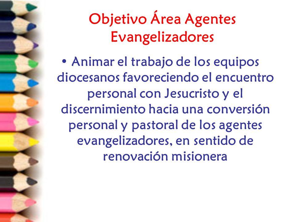 Objetivo Área Agentes Evangelizadores