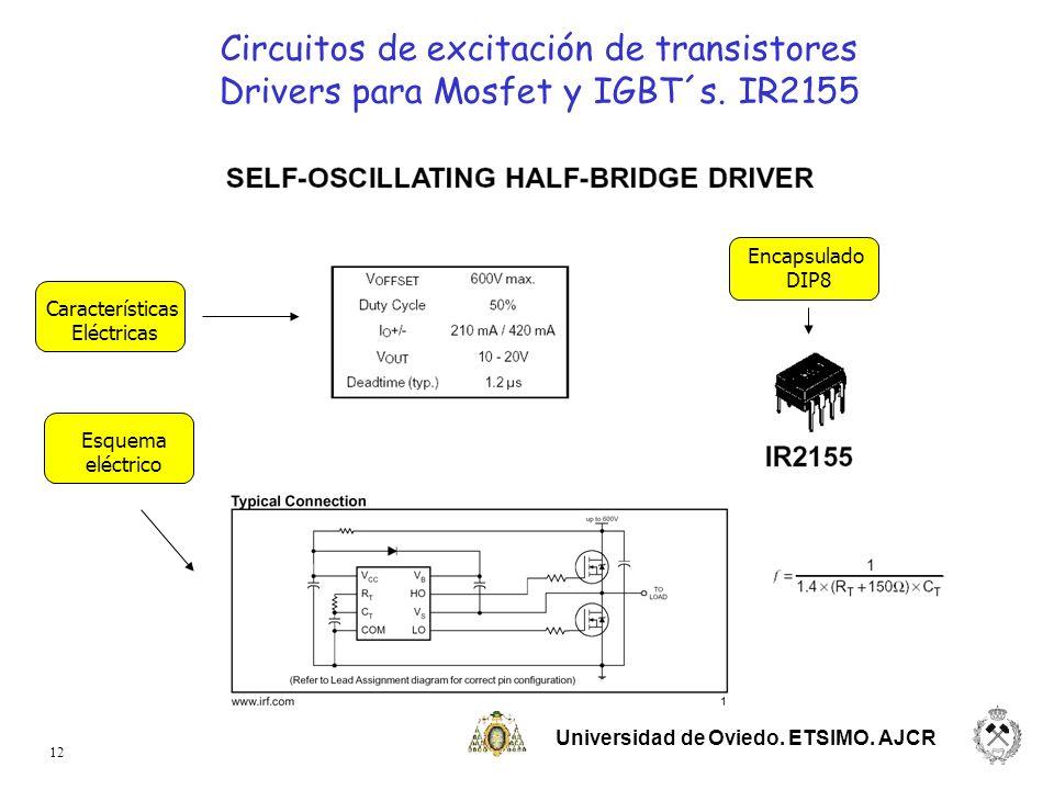 Circuitos de excitación de transistores