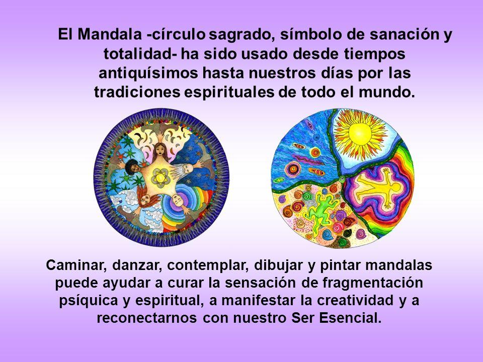 El Mandala -círculo sagrado, símbolo de sanación y totalidad- ha sido usado desde tiempos antiquísimos hasta nuestros días por las tradiciones espirituales de todo el mundo.