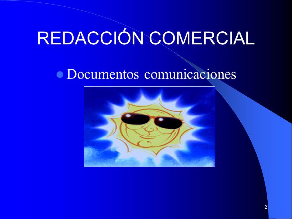 Documentos comunicaciones