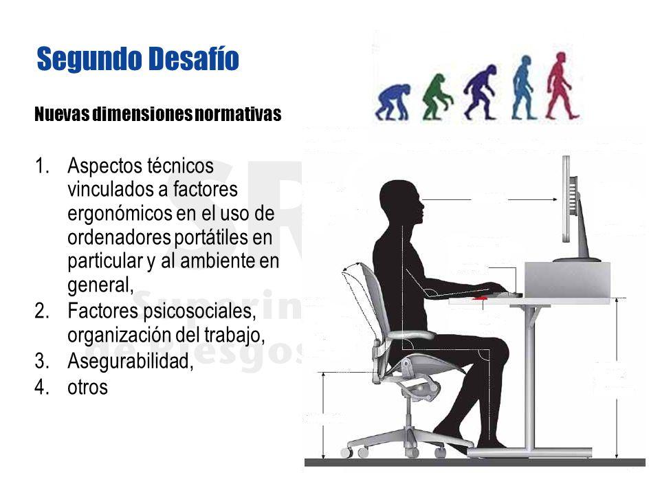Segundo Desafío Nuevas dimensiones normativas.