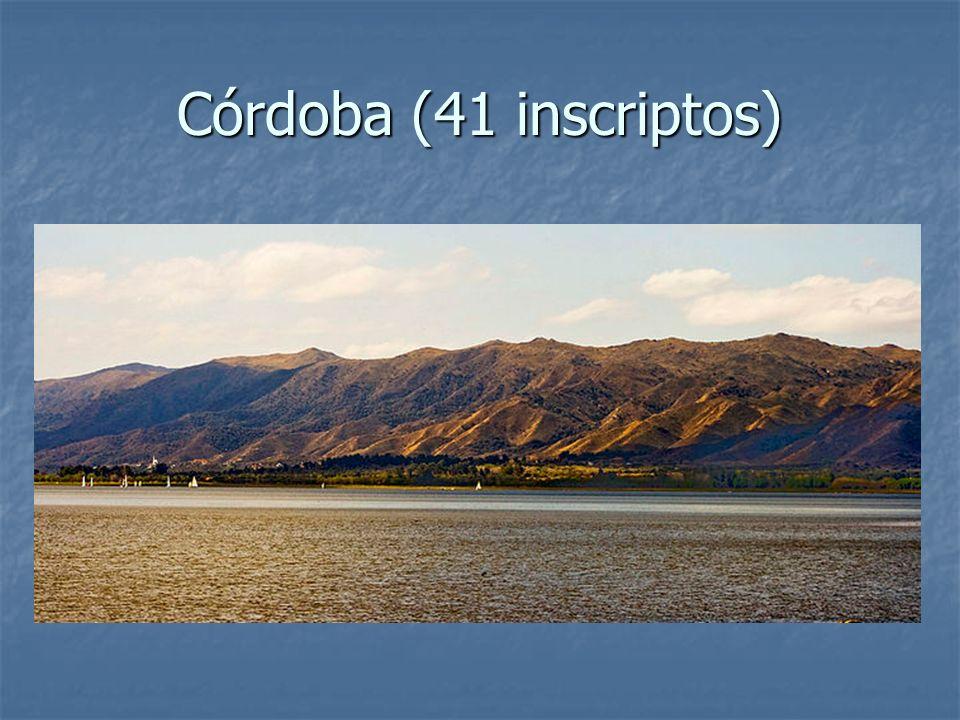 Córdoba (41 inscriptos)