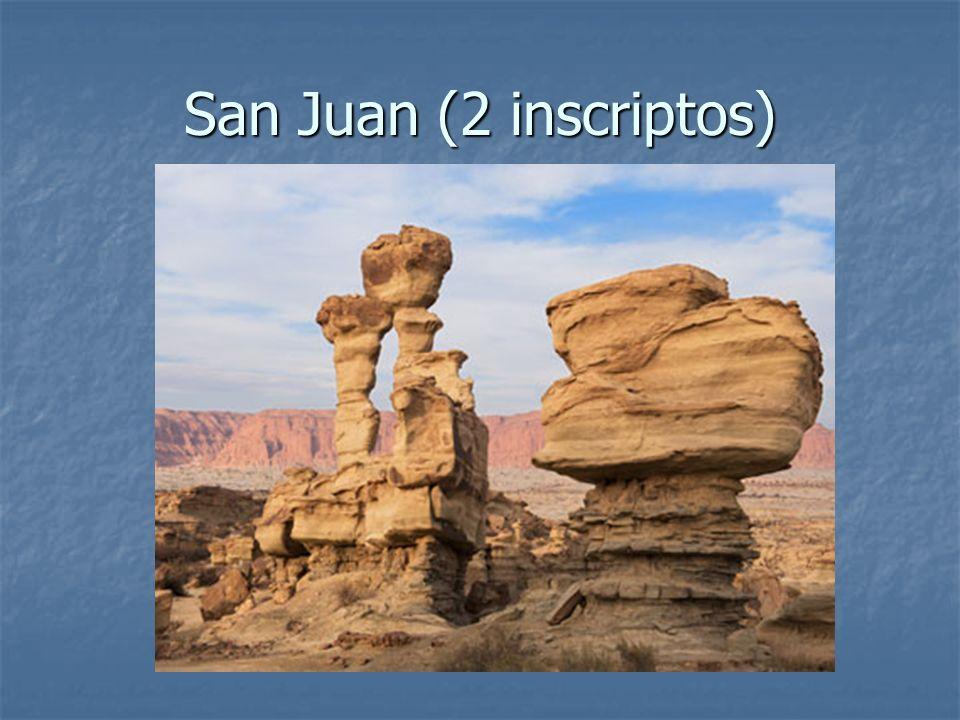 San Juan (2 inscriptos)