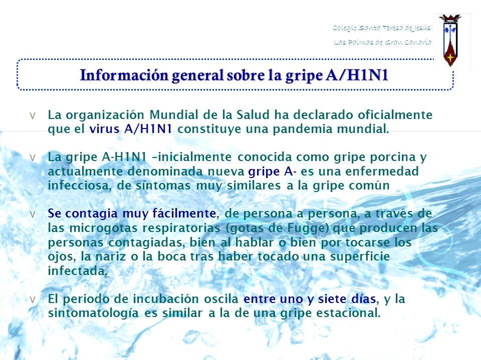 Información general sobre la gripe A/H1N1