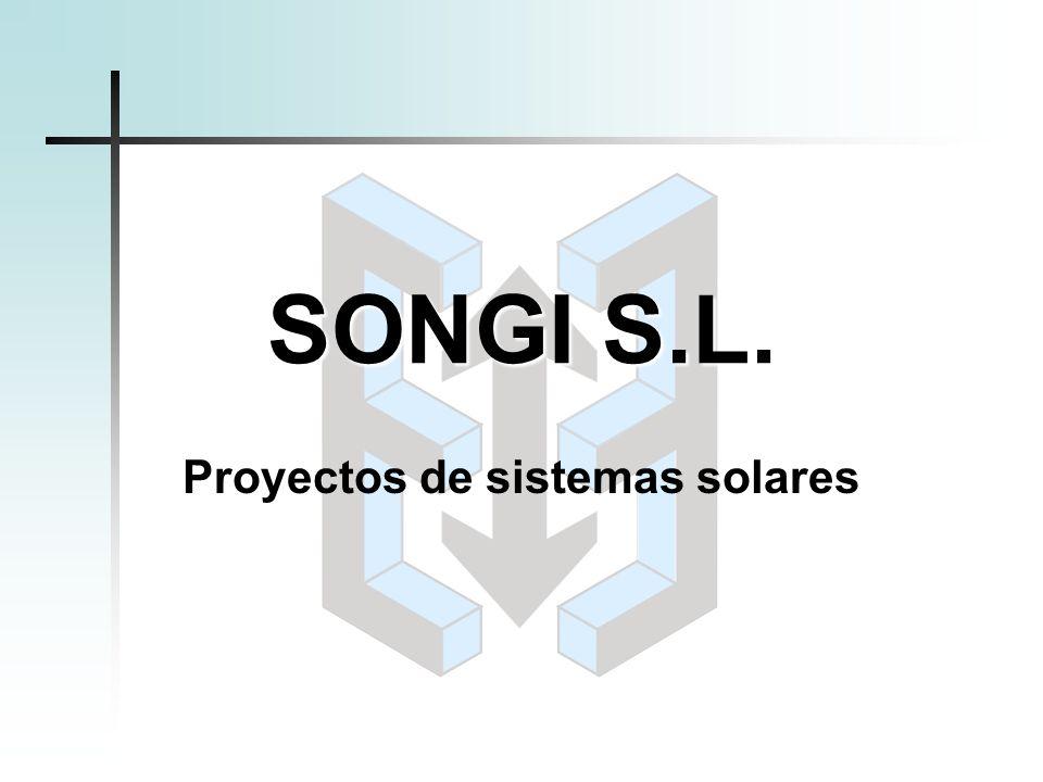 Proyectos de sistemas solares