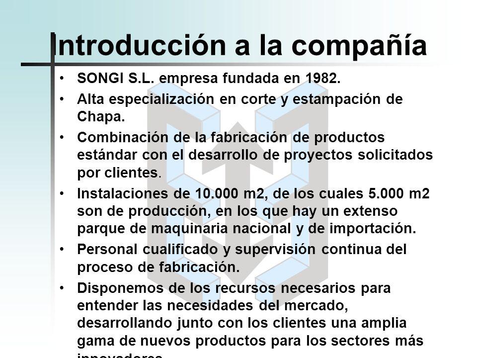 Introducción a la compañía