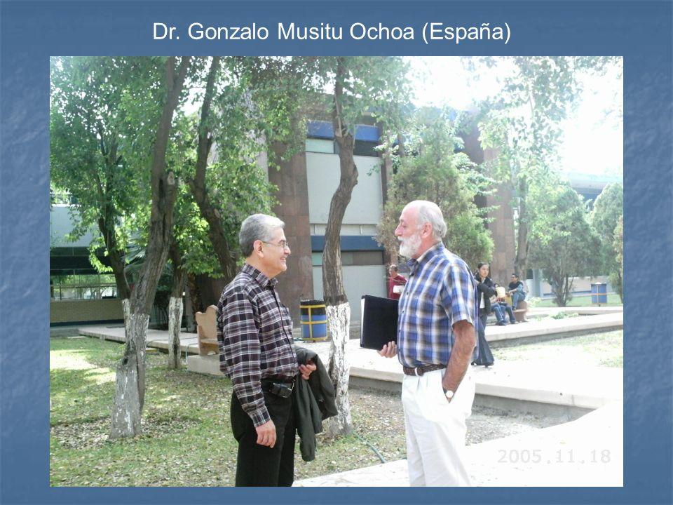 Dr. Gonzalo Musitu Ochoa (España)