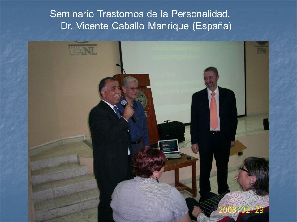 Seminario Trastornos de la Personalidad.