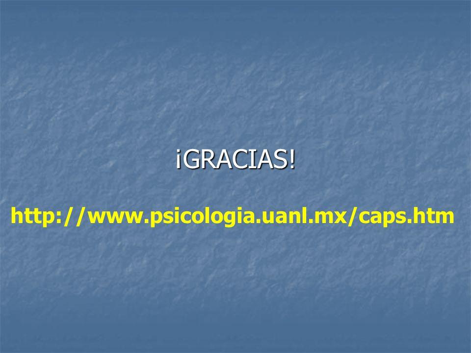 ¡GRACIAS! http://www.psicologia.uanl.mx/caps.htm