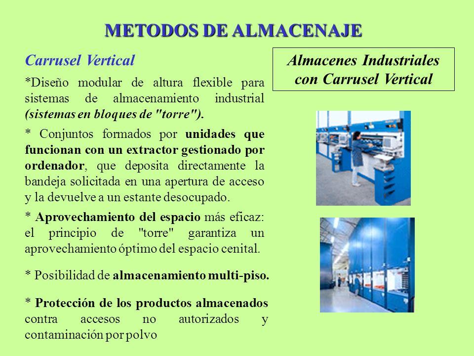 Almacenes Industriales con Carrusel Vertical
