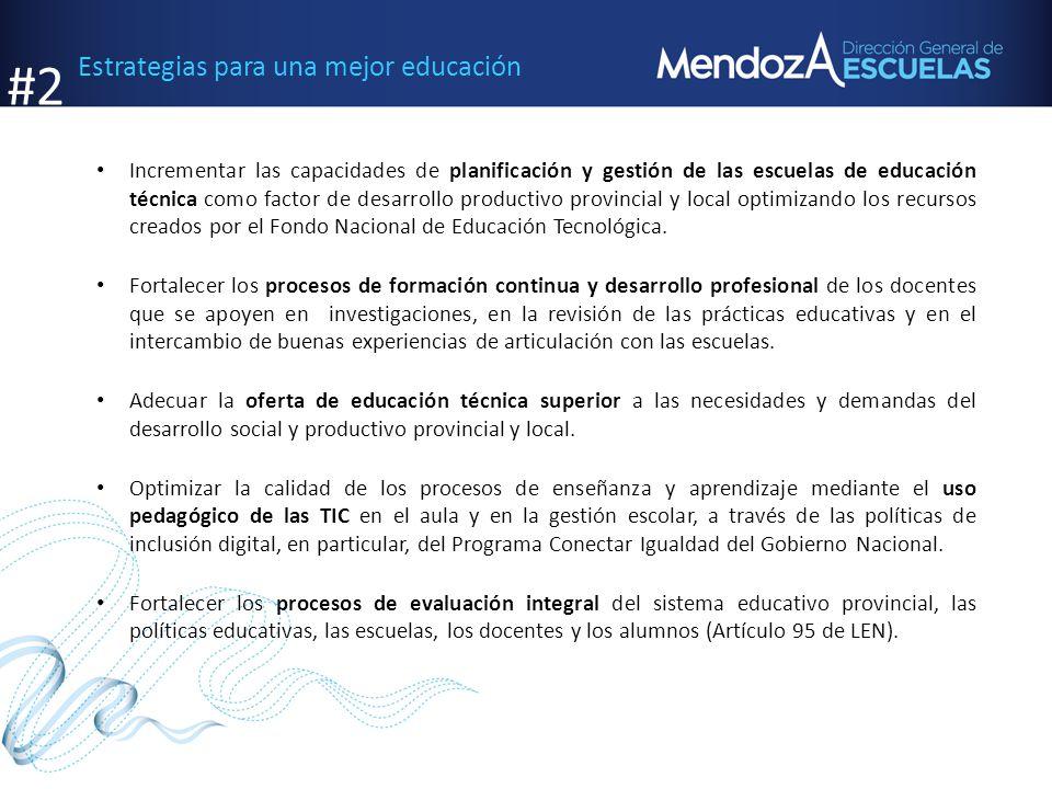 #2 Estrategias para una mejor educación