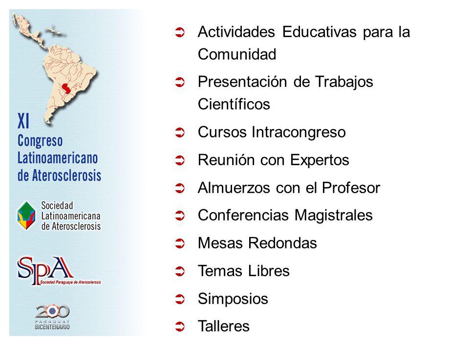 Actividades Educativas para la Comunidad
