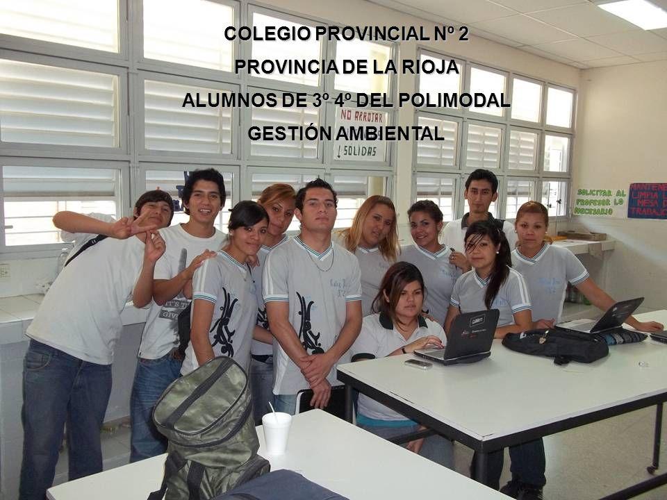 ALUMNOS DE 3º 4º DEL POLIMODAL
