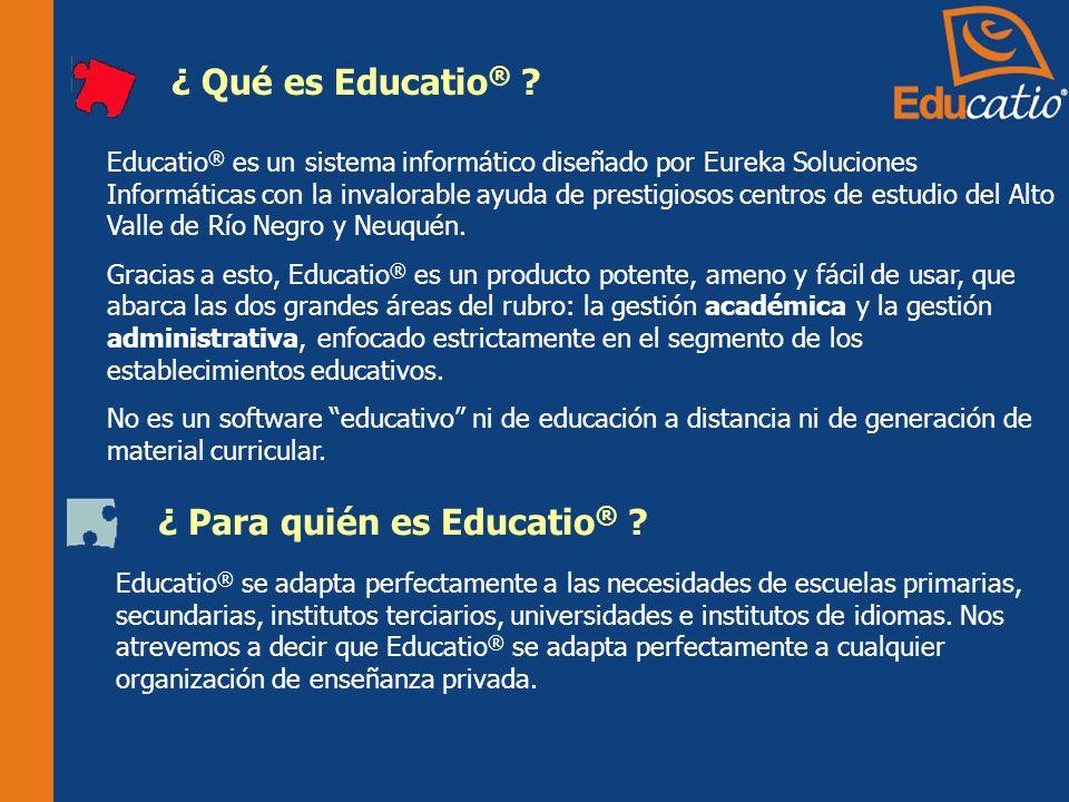 ¿ Para quién es Educatio®
