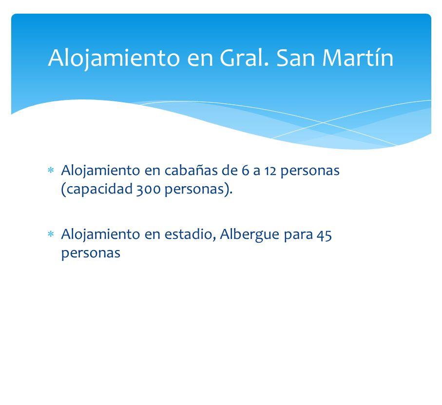 Alojamiento en Gral. San Martín