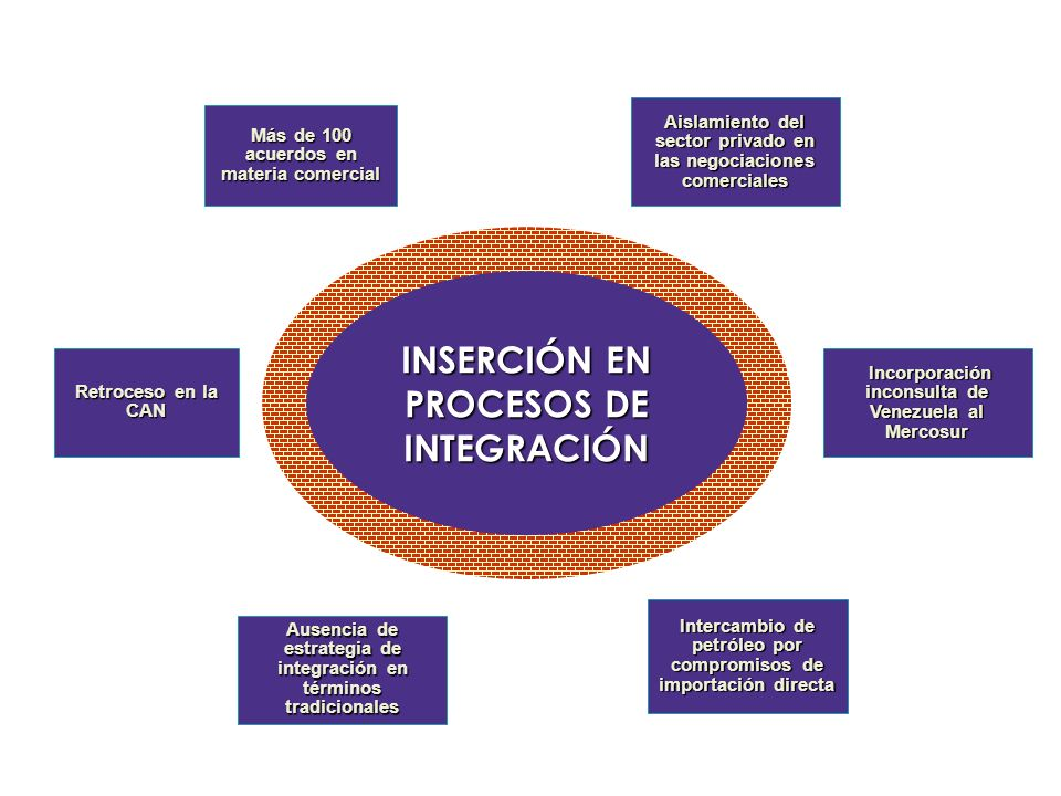 INSERCIÓN EN PROCESOS DE INTEGRACIÓN