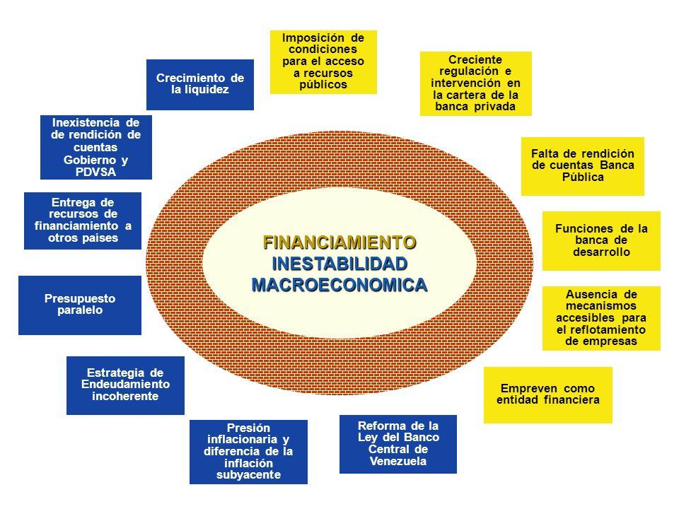 FINANCIAMIENTO INESTABILIDAD MACROECONOMICA