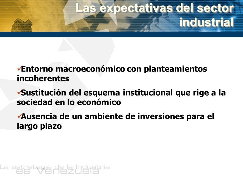 Las expectativas del sector industrial