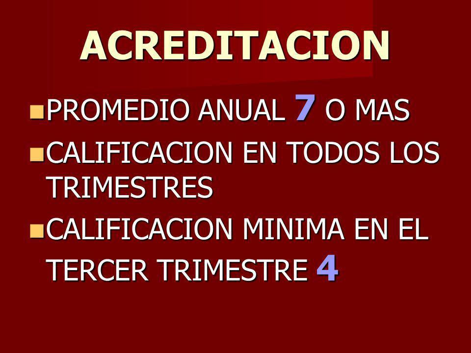 ACREDITACION PROMEDIO ANUAL 7 O MAS