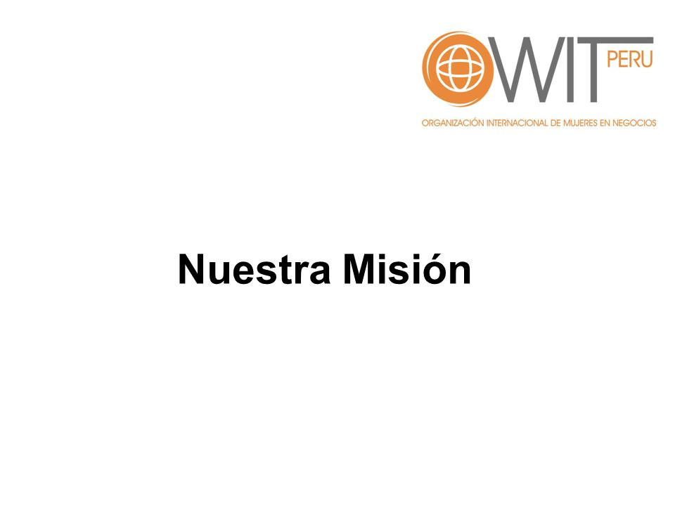 Nuestra Misión