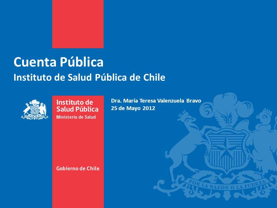 Cuenta Pública Instituto de Salud Pública de Chile