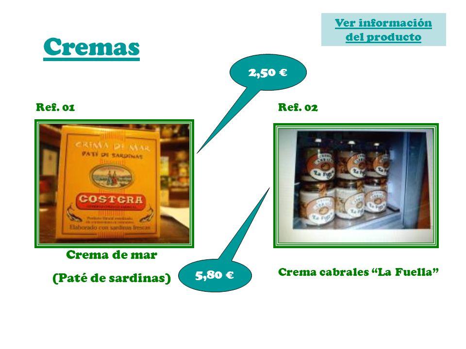 Ver información del producto