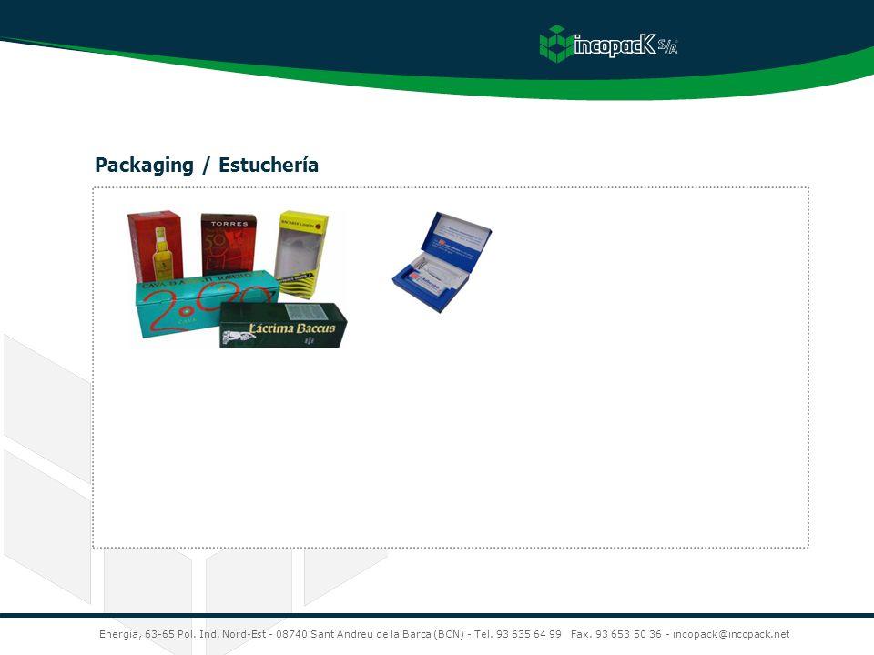Packaging / Estuchería