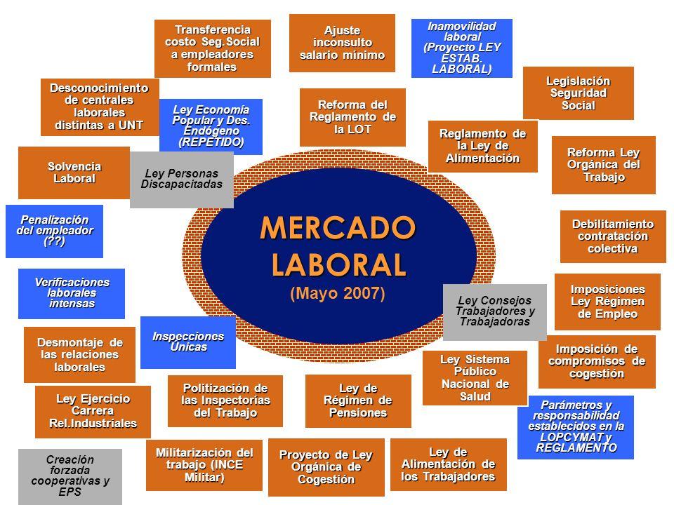 MERCADO LABORAL (Mayo 2007)