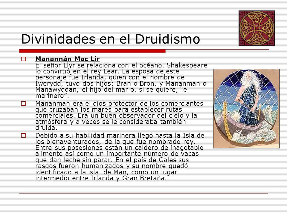 Divinidades en el Druidismo