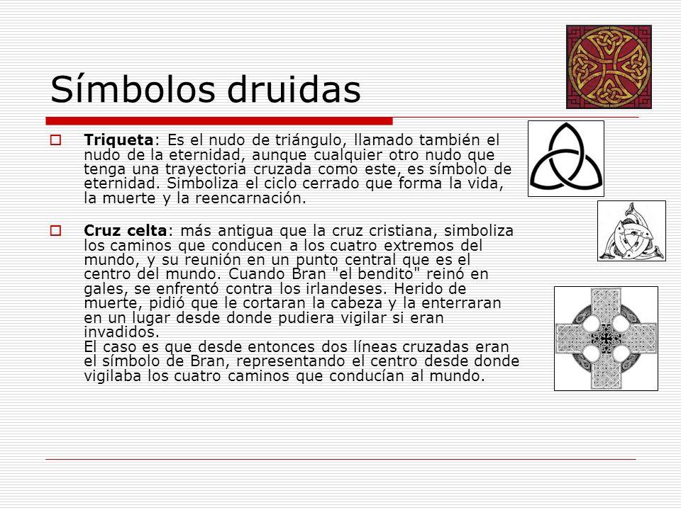 Símbolos druidas