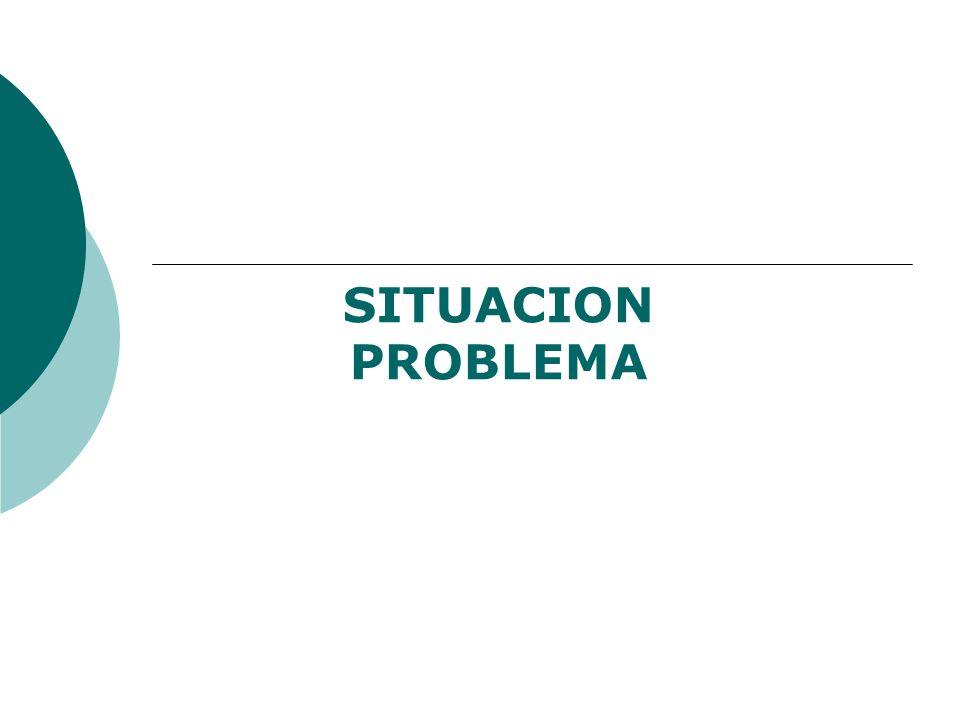 SITUACION PROBLEMA