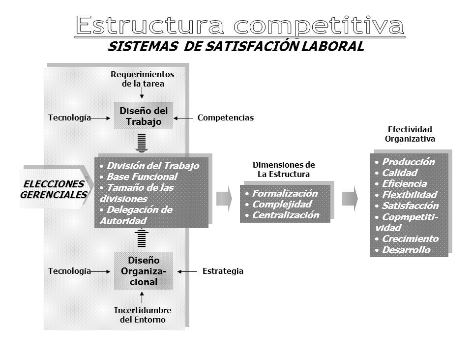 Diseño Organiza-cional