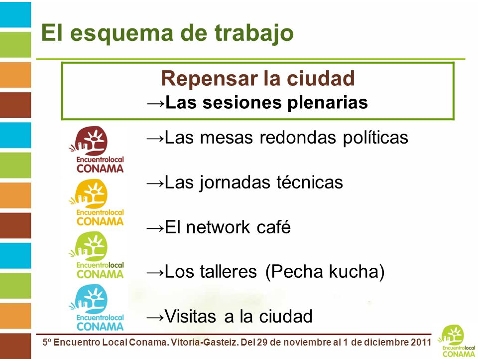Las sesiones plenarias