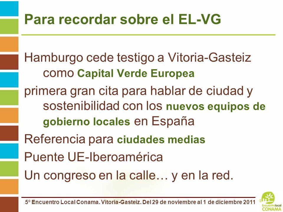 Para recordar sobre el EL-VG
