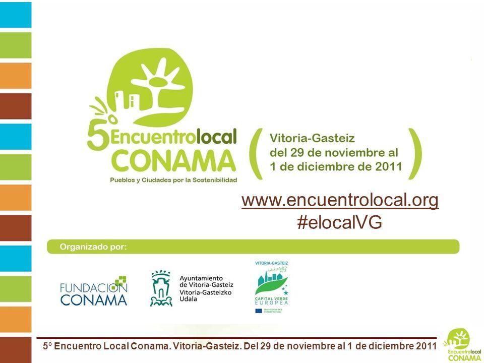 www.encuentrolocal.org #elocalVG