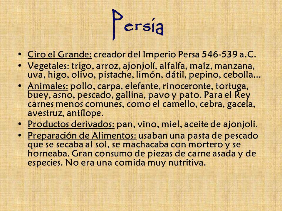 Persia Ciro el Grande: creador del Imperio Persa 546-539 a.C.