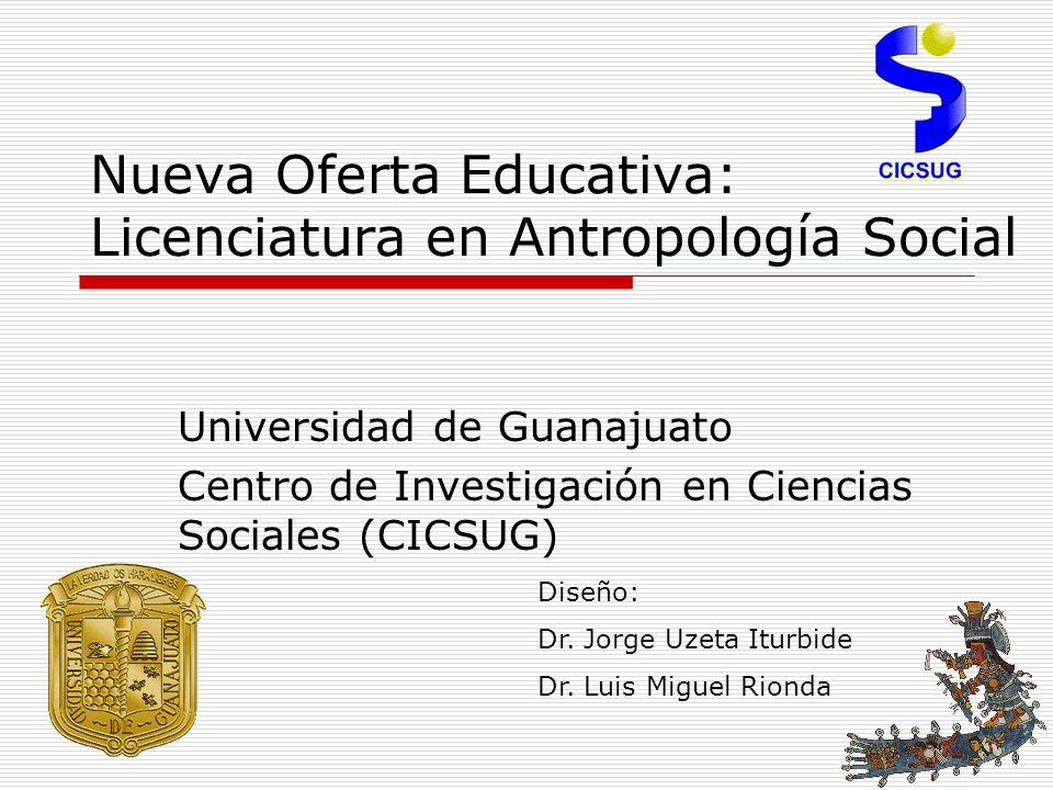 Nueva Oferta Educativa: Licenciatura en Antropología Social