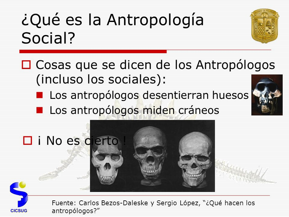 ¿Qué es la Antropología Social