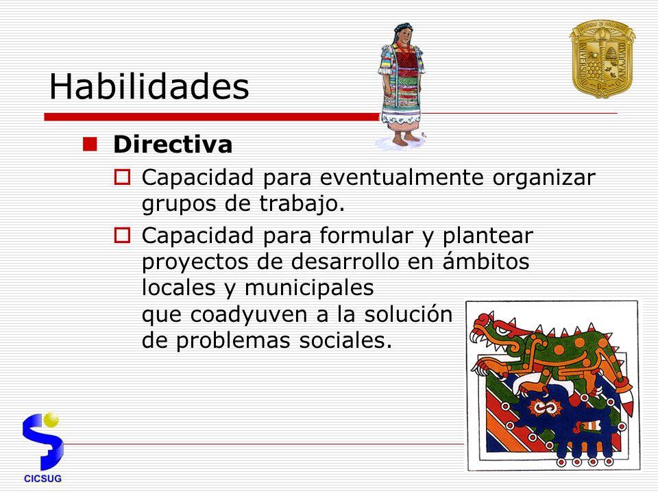 Habilidades Directiva