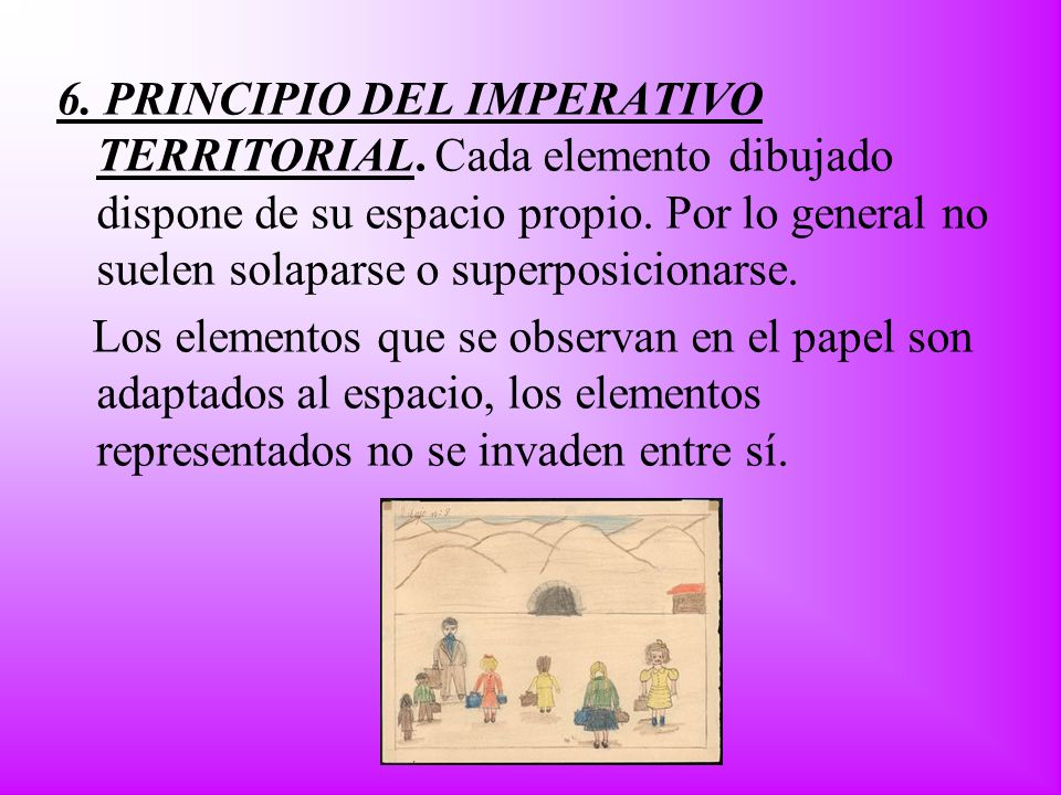 6. PRINCIPIO DEL IMPERATIVO TERRITORIAL